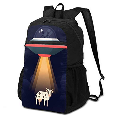 JOCHUAN Womens Hiking Bags Aliens Steal Earth Animals Examples Research Packable Backpack for Women Compact Hiking Bag Lightweight Waterproof for Men & Womentravel Camping Outdoor