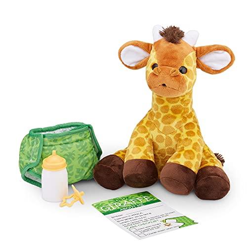 Melissa & Doug 11-Inch Baby Giraffe Plush Stuffed Animal