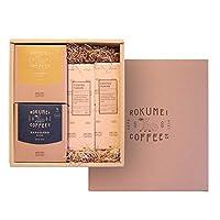 ROKUMEI COFFEE CO. ( ロクメイコーヒー ) コーヒーギフト コーヒー & お菓子 セット [ 2種10pcs / コーヒー羊かん 2本 ] ドリップコーヒー ギフト ( 誕生日シール )