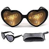 Heart Effect Diffraction Glasses, Women...