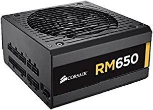 Corsair RM650x, 650W, Fully Modular Power Supply, 80+ Gold Certified