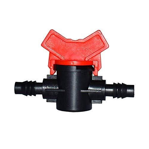 Bisheep Equipo de riego de agua válvula de riego de agua grúas grifo de plástico 8/11 grifo conector grifo jardín 6pcs herramientas de jardinería equipo de riego