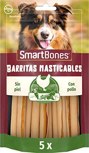 SmartBones Pollo Barritas masticables para perros, 5 piezas