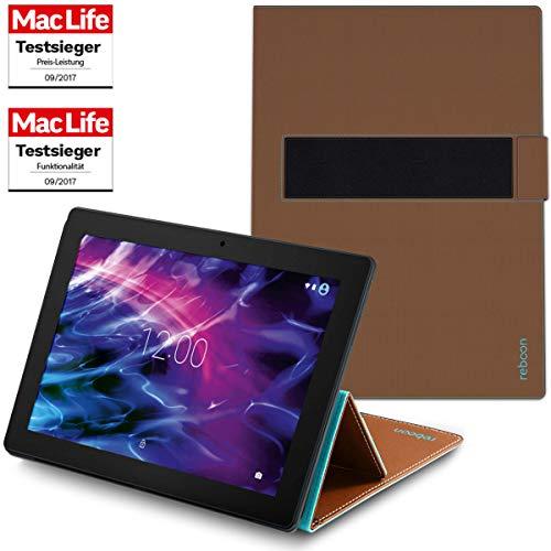 Hülle für Medion Lifetab P10603 Tasche Cover Hülle Bumper | in Braun | Testsieger