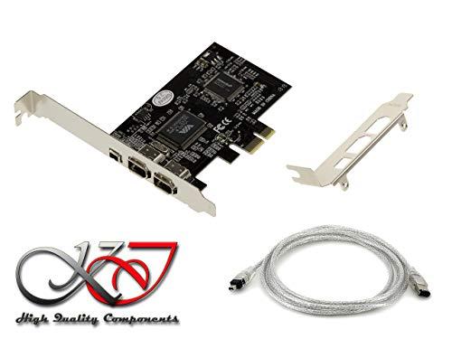 ASMedia Carte contrôleur FireWire, 4pins + 2X 6pins