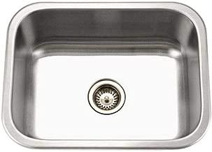 Houzer MS-2309-1 Undermount Stainless Steel Single Bowl Kitchen Sink
