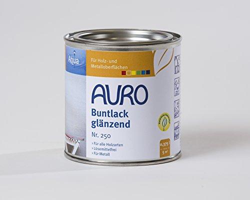 AURO Buntlack, glänzend - Ocker-Gelb - 0,375L