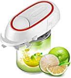 Electric Can Opener, Battery Operated Hand free Multifunctional Can Opener, Restaurant Can Opener, Battery Operated Hand free Can Opener for Chef's, Individuals, Arthritis and Housewife