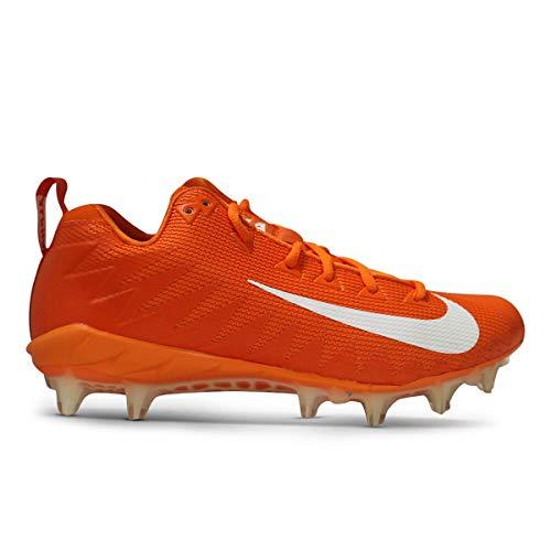 Nike Alpha Menace Pro Low TD Promo Football Cleats (13 D(M) US, Orange/White)