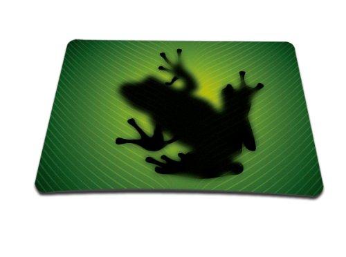 Luxburg Design Tappetino Mouse Mousepad, Motivo: Rana Silhouette