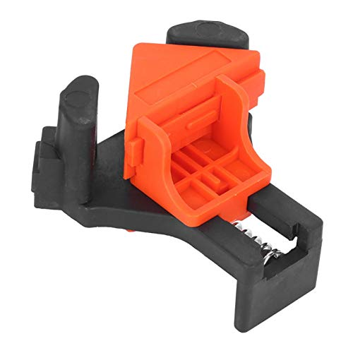 Rechte Winkelklemme, Rechteckclip-Fixierer 4PCs 90 ° -Winkelclip 90-Grad-Winkel-Eckklemmen für die Einhandbedienung Holzbearbeitung