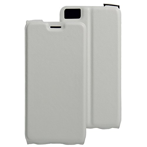 Litao-Case CN Hülle für BQ Aquaris M5.5 hülle Flip Leder + TPU Silikon Fixierh Schutzhülle Case 1