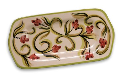"Gail Pittman Honeysuckle 11"" Serving Platter -  Gail Pittman Designs"