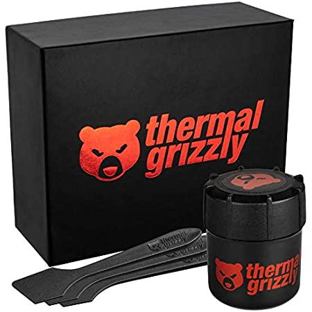 Thermal Grizzly Kryonaut Extreme The High Performance Thermal Paste for Cooling All Processors, Graphics Cards and Heat Sinks in Computers and Consoles (33,84 Gram / 9,0 ml)