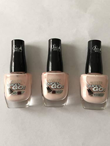 3x Astor Quick'N Go! Nagellack (374 Floral Dream)
