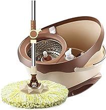 MU Haushalt Rotary Mop Mop Bucket Double Drive ręczny drewniany uchwyt do mopa płaskiego,# 2