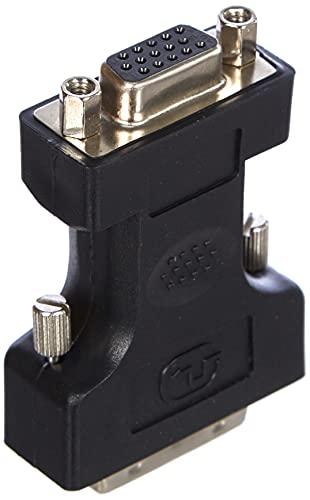 ASSMANN - Adattatore DVI-I su VGA, colore: Nero DVI-I 24+5 S