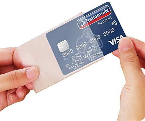 EternalStars カードケース(15枚) カード 保護 ケース プロテクタ 透明 磁気防止 マットな質感 薄型 防水 防磁 ビニール IDカードケース 防水・防磁対策 クレジットカードケース シンプル デザイン 各種カード フィルム 磁気防止 ポイ