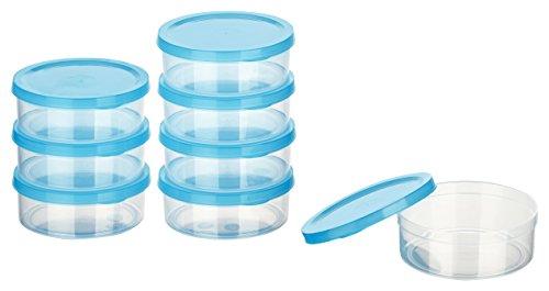 Kigima Mini-Tiefkühldose rund - 200ml - 8er Set