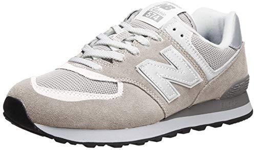 New Balance 574 Core Zapatillas Hombre, Blanco (Nimbus Cloud), 42 EU (8 UK)