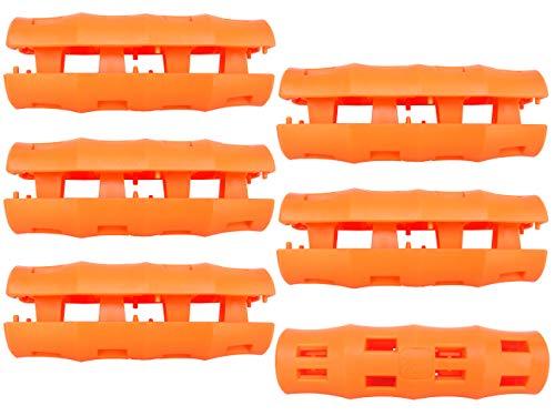 Snappy Grip Ergonomic Replacement Bucket Handles (6 Pack)