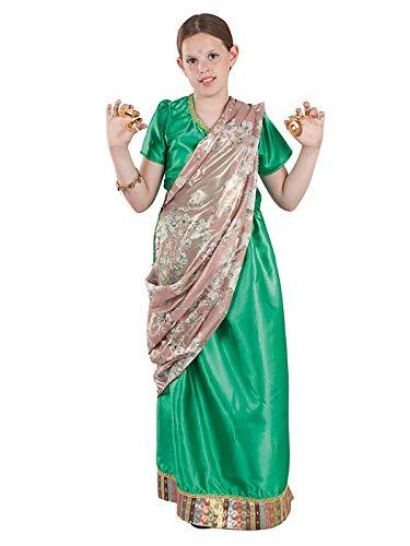 DISBACANAL Disfraz hindú para niña - -, 12 años