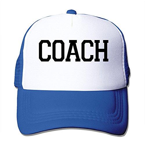 Unisex Coach Einstellbare Mesh-Kappen ROT - blau -