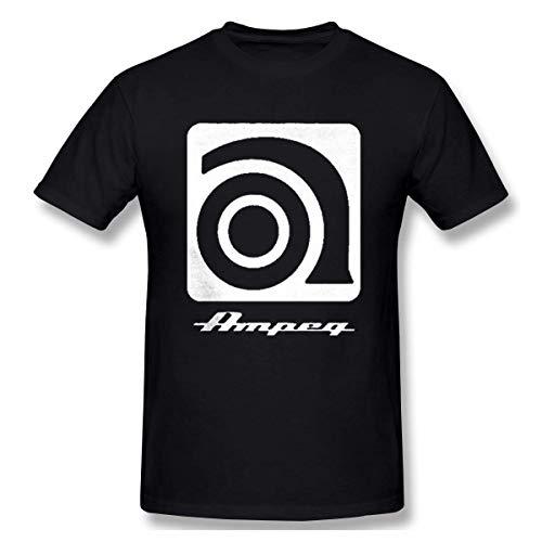 メンズAmpeg Amp Cool TシャツカジュアルTシャツ、ブラック、XX-Large S