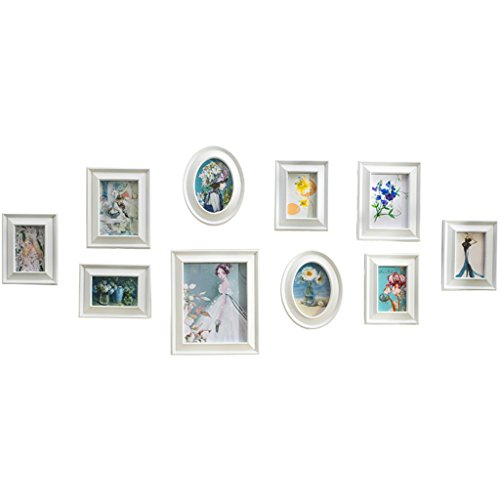 Cadre décoratif Petite et Belle Creative Photo Combinaison -10 pièces Murale Lot. Chambre à Coucher Tête de lit Mural Photo Murale Photo d'arrière-Plan