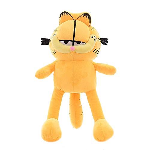 HUOQILIN Kaffee-Katze Plüschtiere for Kinder Königin Kissen Geburtstagsgeschenk (Color : Yellow, Size : 80cm)
