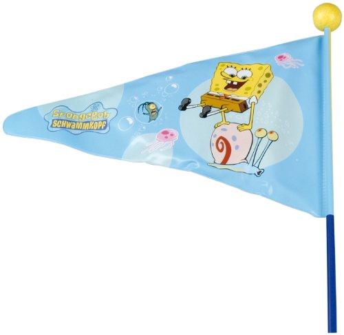 Pseudo Kinder Fahrrad- Wimpel Spongebob
