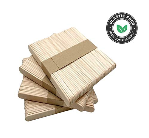Holzmundspatel, unsteril zur äußeren Anwendung 1 x 100 Stück - 2cm x 15cm