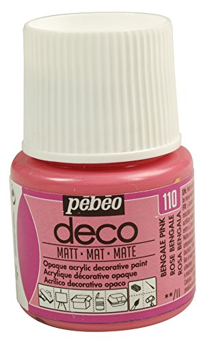 Pébéo Deco peinture 45 ml Mat Rose Bengale