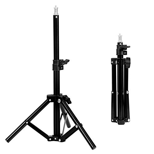 Selens Table Top Light Stand Photography 27.5Inch/70 cm Mini Tripod for Ring Light Speedlight Camera Dolly Video Recording Photo Studio Lighting