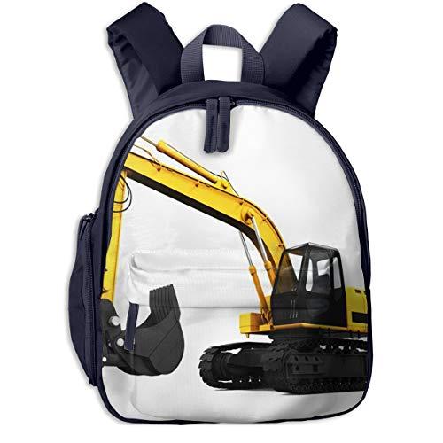 Kinderrucksack Kleinkind Jungen Mädchen Kindergartentasche Bagger Digger Render Backpack Schultasche Rucksack