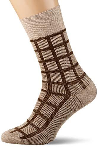 FALKE Herren Sensitive All Time Rise Socken, beige (sesame 4390), 43-46