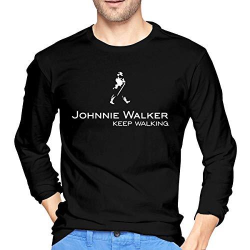 Langärmliges T-Shirt Mens Johnnie Walker Logo Long Sleeve T Shirt