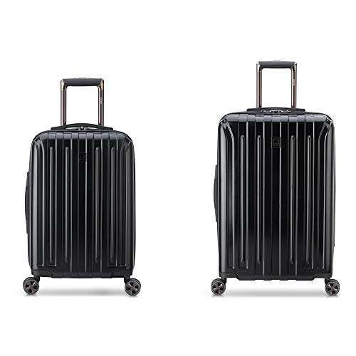 DELSEY 2-Piece Set Paris Titanium DLX Hardside Luggage With Spinner Wheels Now Just $49.99 From Amazon