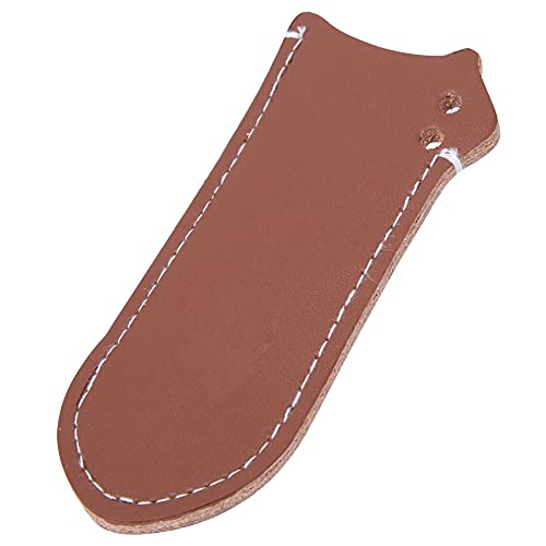 Frying-Pan Handle Sleeve, Natural Cowhide Cover Fix Quality Material Frying Pan Cover