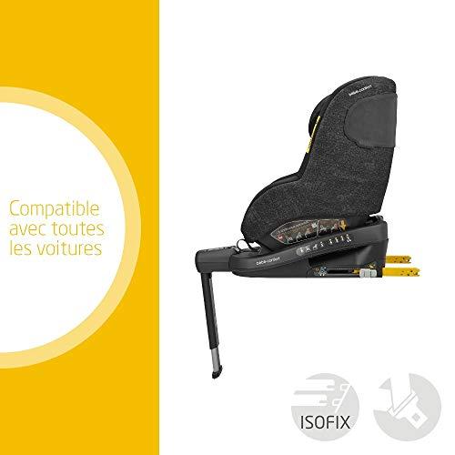 Bébé Confort Beryl Siège Auto Evolutif Groupe 0/1/2 de la Naissance à 7 Ans, 0-25 kg, Nomad Black (noir)
