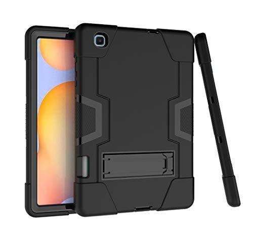 Capa para Galaxy Tab S6 Lite 10.4 2020 com suporte para caneta S, capa Uzer de três camadas à prova de choque, antiderrapante, de silicone resistente a alto impacto com suporte para tablet Samsung Galaxy Tab S6 de 10,4 polegadas SM-P610/SM-P615