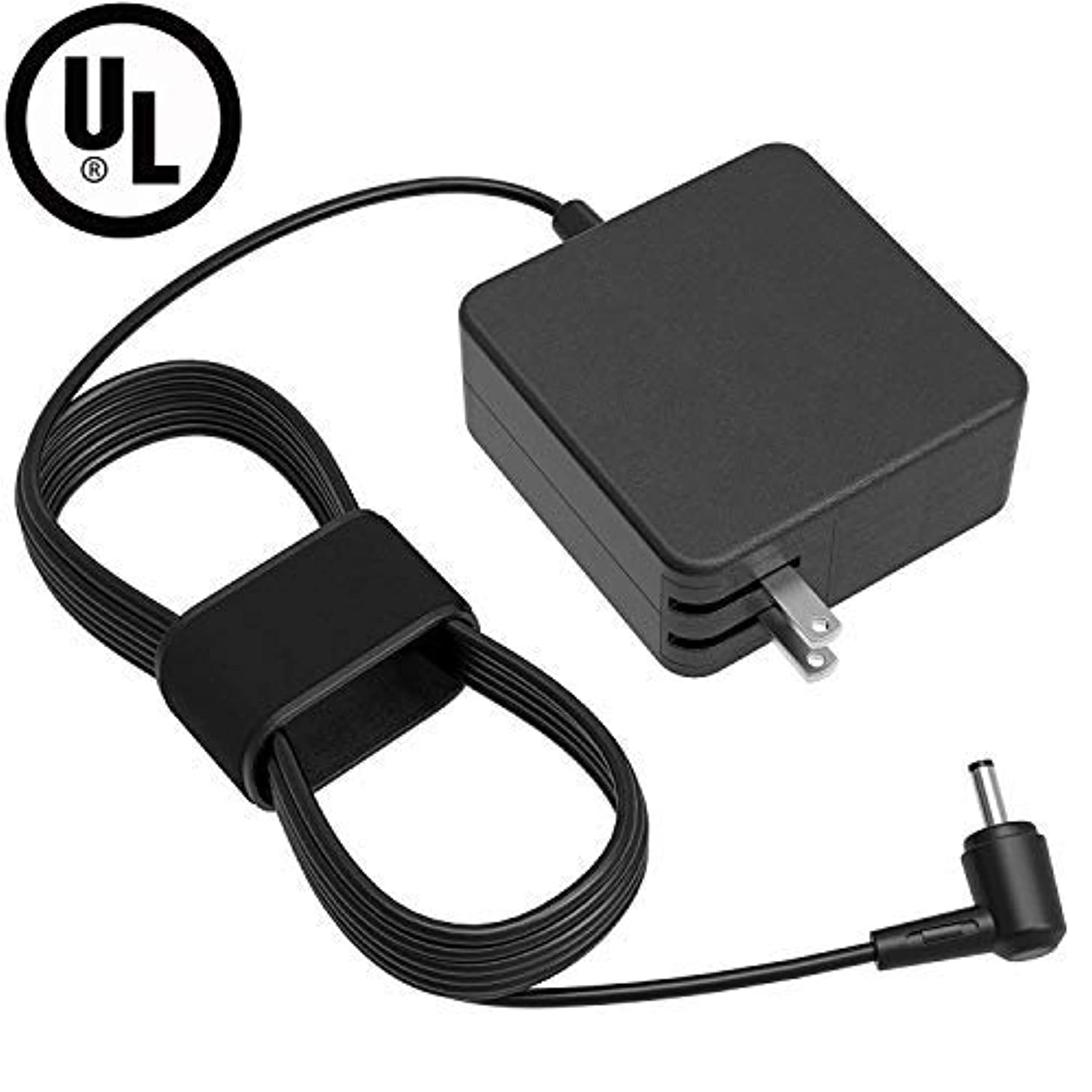 [UL Listed] AC Charger for Asus TP500 TP500L TP500LA TP500LN TP550LA TP550L TP550 K551LN K551L K551 K550 K550CA K550C K550LA K550LNV K550L X505BA X505B X505 Laptop Power Supply Adapter Cord