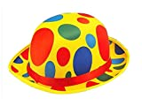 KIRALOVE Clown Hut - Clown - saltinbanco - kostüm - verkleidung - Karneval - Halloween - Cosplay - Accessoires - Mann - Frau - Kinder - Modell 1 Clown Cosplay