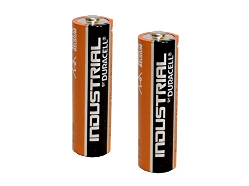 Kompatible Mignon Batterie 2x LR 06 für LED Taschenlampe Premium 2 AA 60lm 4h