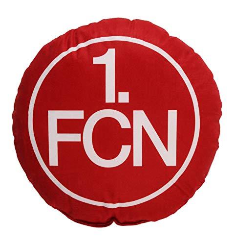 1. FC Nürnberg Kissen Nickikissen Logo rund