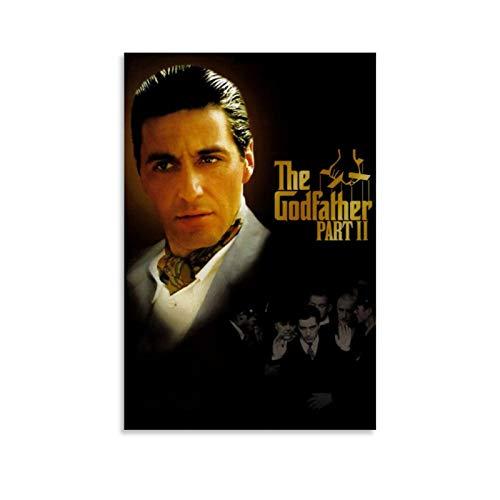 Filmposter, Motiv: Der Patenvater Michael Corleone, dekoratives Gemälde, Leinwand, Wandkunst, Wohnzimmer, Schlafzimmer, Gemälde, 40 x 60 cm