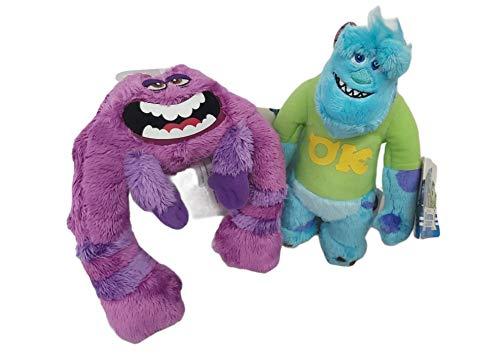"Monsters University Spin Master Disney Pixar My Scare Pal Plush Bundle (Sulley & Art) 8"""