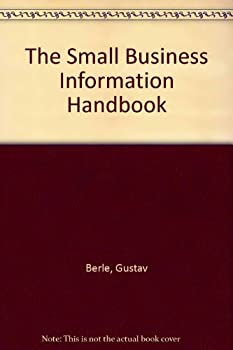 Small Business Information Handbook 0471524484 Book Cover