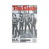 CONGYUAN Original The Clash Poster auf Leinwand,