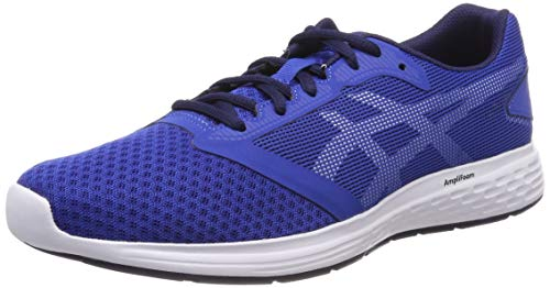 Asics Patriot 10, Zapatillas de Running para Hombre, Azul (Imperial/White 402), 43.5 EU